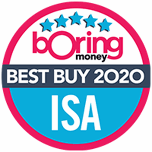 Boring Money Best Buys 2020 ISA award