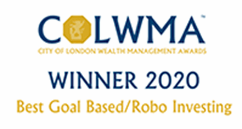 COLWMA award for best goal based and robo investing