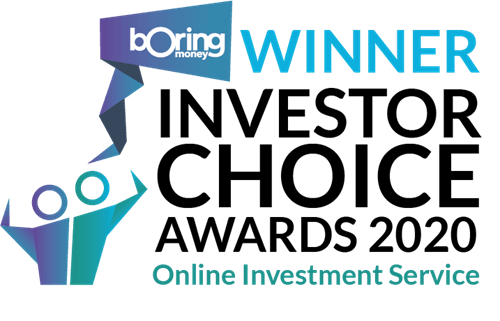 Boring Money award for Best Online Investment Service