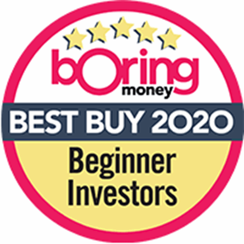 British Bank Awards 2020 award for Beginner Investors