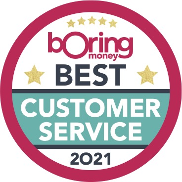 Boring Money Best Buys 2021 ISA award