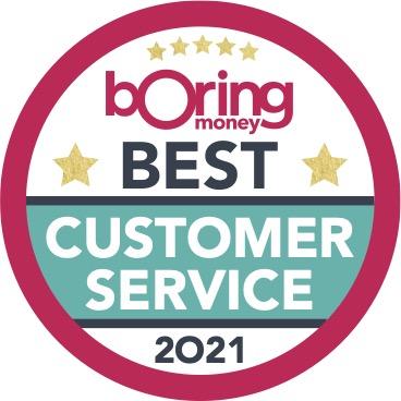 Boring Money Best Buys 2021 Customer Service