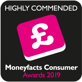 Shortlisted for moneyfacts consumer awards 2020 digital wealth management provider of the year