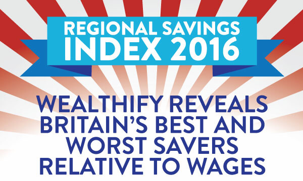 Wealthify's Regional Savings Index