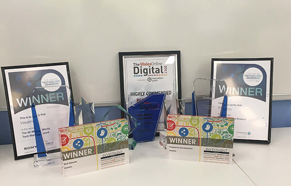 Wealthify has won a run of recent awards and accolades...